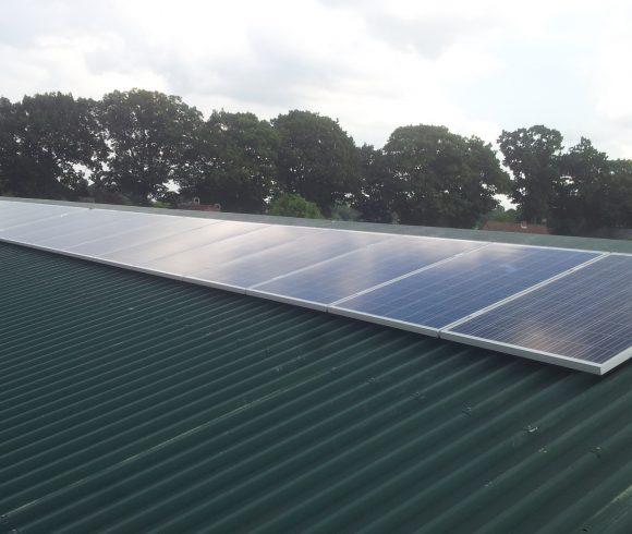 Kleine projecten rond zonnepanelen