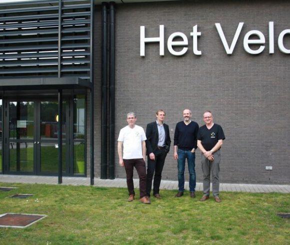 Zonnepanelen op sportcomplex Het Veld in Zandhoven