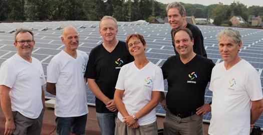 PV-installatie Sportcomplex Het Veld: Energiecafé 5 met plechtige inhuldiging
