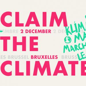 Klimaatmars in Brussel op 2 december