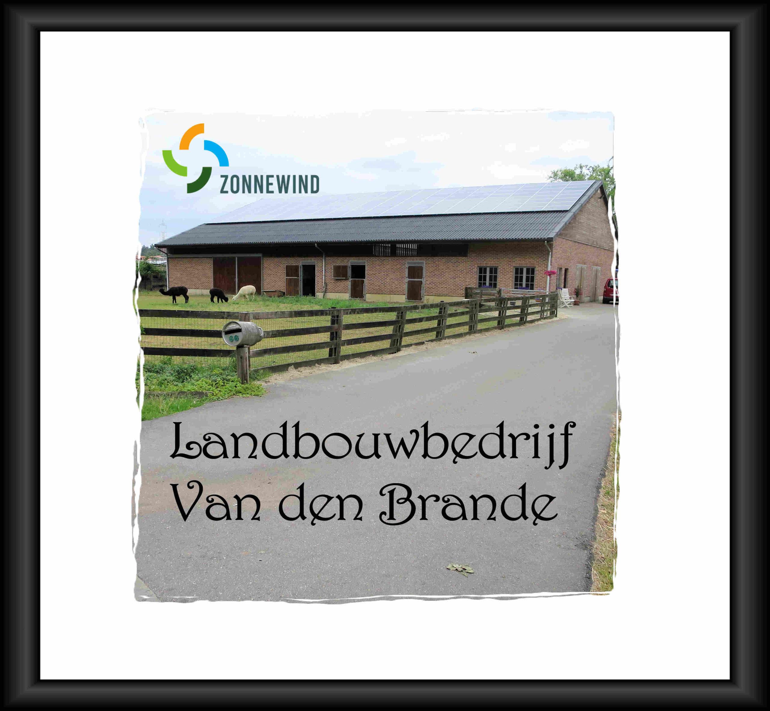 PV project bij landbouwbedrijf Van den Brande Pulderbos