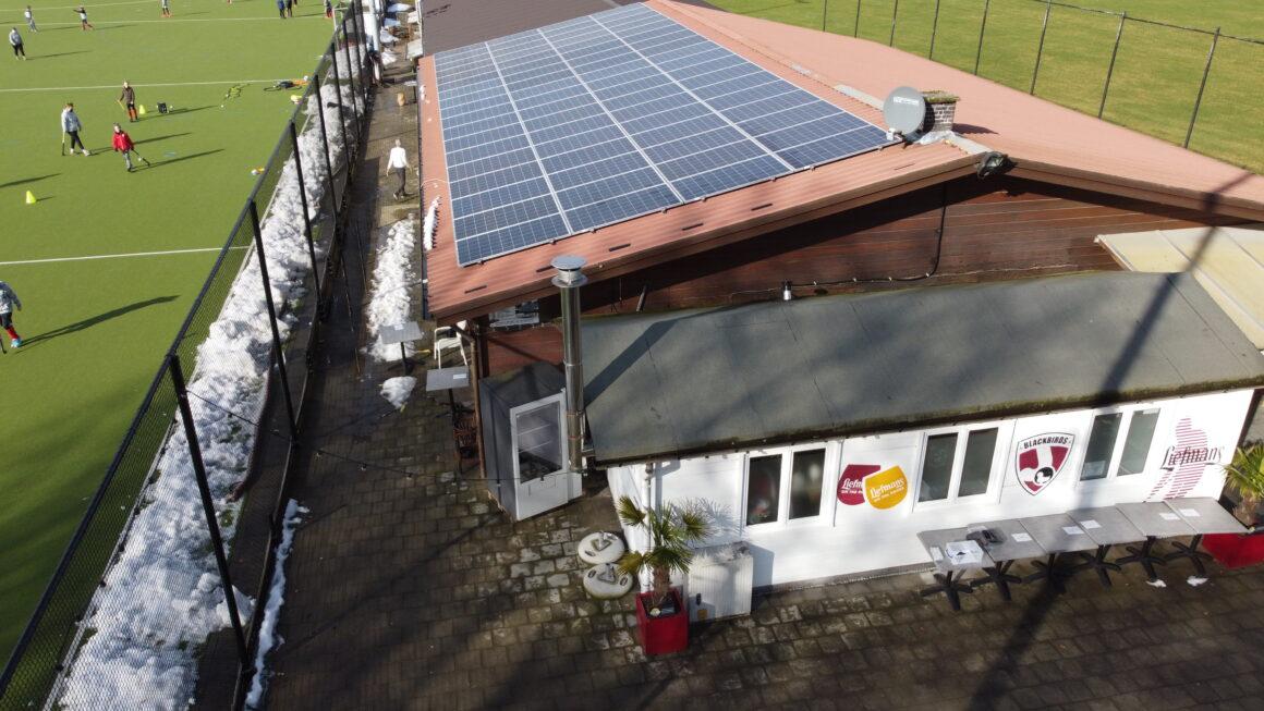 PV- installatie K.F.C. Broechem, K. Zandhoven SK en Hockey Club Blackbirds Zandhoven
